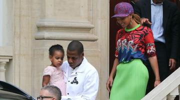 Βόλτα στο Παρίσι για Beyonce, Zay-Z και Blue Ivy