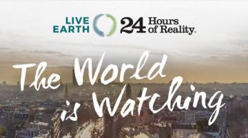 Καλλιτέχνες, επιστήμονες και πολιτικοί αξιωματούχοι ενώνονται για το καλό του πλανήτη