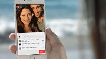 Σε τρέλα εξελίσσεται η ζωντανή μετάδοση από Φίλους στο Facebook