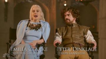 Ο Πίτερ Ντίνκλατζ παρωδεί το «Game of Thrones» στο Saturday Night Live