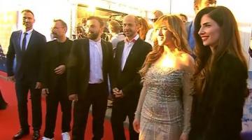 Η εμφάνιση των Argo στην τελετή έναρξης στο κόκκινο χαλί της Eurovision 2016