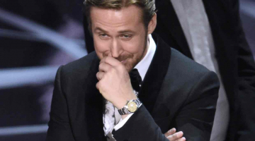 Ryan Gosling explains why he laughed during the Oscars mix-up