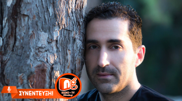 Ο Ζαχαρίας Καρούνης δίνει συνέντευξη στον NGradio