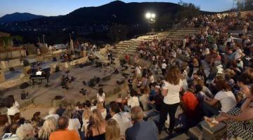 Για πρώτη φορά κινηματογραφικές προβολές στο Μικρό Θέατρο Αρχαίας Επιδαύρου