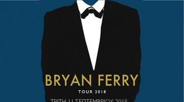 Ο Bryan Ferry στις 11 Σεπτεμβρίου στο Ωδείο Ηρώδου Αττικού | Έναρξη προπώλησης εισιτηρίων: Τρίτη 24 Ιουλίου