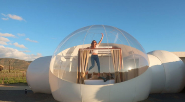 Το ξενοδοχείο φούσκα στο Μεξικό σου επιτρέπει να κοιμηθείς κάτω από τα αστέρια