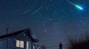 Βροχή αστεριών: Η φωτογραφία που αναδημοσίευσε η NASA -Την έβγαλε Αιγιώτης, στον Χελμό