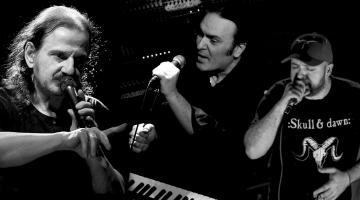 Οι Πάνος Κατσιμίχας, Κώστας Λειβαδάς και Δημήτρης Καρράς στη μουσική σκηνή Σφίγγα – Σάββατα Δεκεμβρίου