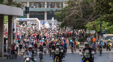 Στην τελική ευθεία ο 26ος Ποδηλατικός Γύρος της Αθήνας