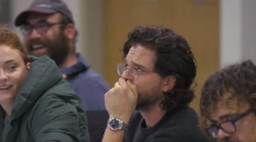 Δείτε τις αντιδράσεις των πρωταγωνιστών του Game of Thrones στην ανάγνωση του φινάλε της σειράς