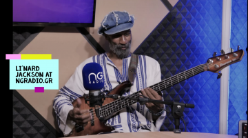 Li'nard Jackson,σπουδαίος μπασίστας της Νέας Υόρκης   Συνέντευξη-βίντεο