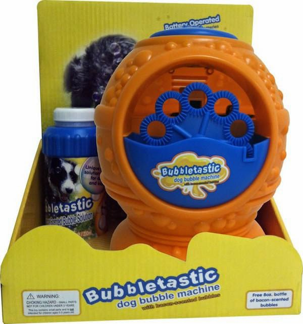 unnecessary-pet-products-dog-bubbles