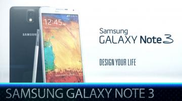 Samsung Galaxy Note 3 Ελληνικό Hands-on