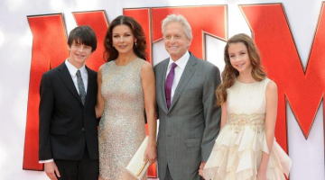 Paul Rudd, Catherine Zeta-Jones, Michael Douglas hit the red carpet for 'Ant-Man' premier