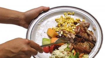 H σπατάλη τροφίμων