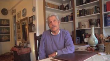 """Ο Φοίβος Πιομπίνος μιλά για το βιβλίο του """"Τόπων Ενθυμήματα"""""""