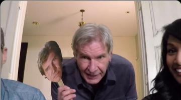 Harrison Ford Surprises 'Star Wars' Fans on Skype