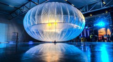 Η Google ετοιμάζει 300+ αερόστατα για δημιουργία συνεχούς ζώνης Internet