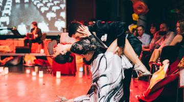 Τango en Εrοs: Γιορτάστε τον άγιο Βαλεντίνο με χορό και ζωντανή μουσική! Valentine goes Megaron
