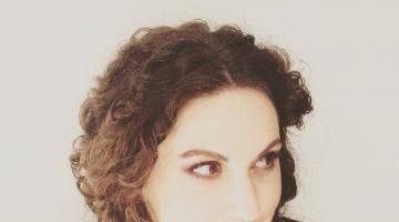 Η Κορίνα Λεγάκη δίνει συνέντευξη στον NGradio