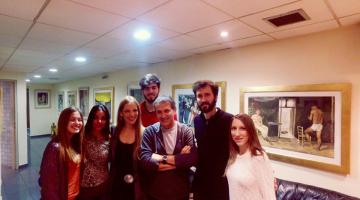 Οι Άγγελοι του NGradio με τον Γιώργο Νταλάρα