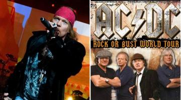 Ο Αξλ Ρόουζ και επίσημα frontman των AC / DC