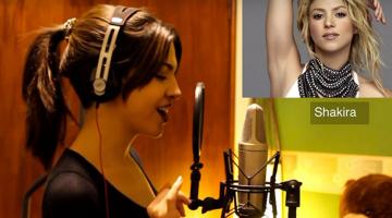 Η κοπέλα που μιμείται τέλεια δεκαπέντε δημοφιλείς τραγουδίστριες