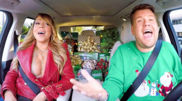Mariah Carey joined James Corden for an especially festive Carpool Karaoke and there are LOADS of famous surprises