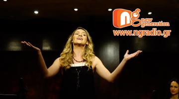 Η Βασιλική Καρακώστα δίνει συνέντευξη στον NGradio.gr