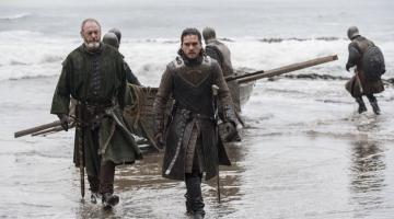 'Game of Thrones': Jon Snow Arrives at Dragonstone in New Season 7 Photos