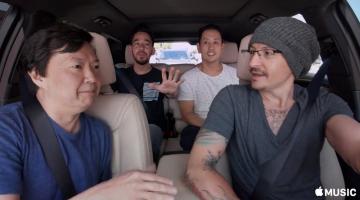 Κυκλοφόρησε τελικά το Carpool Karaoke με τους Linkin Park