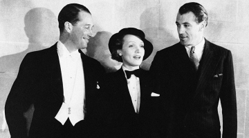 The Golden Age Hollywood icon who made the tuxedo a unisex symbol