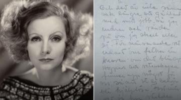 """Η μοναξιά της μοναδικής Γκρέτα Γκάρμπο """"στο σφυρί"""" μέσα από 36 επιστολές"""