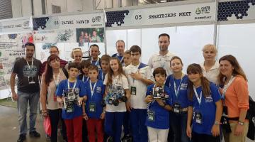 Ολυμπιάδα Εκπαιδευτικής Ρομποτικής: Χάλκινο μετάλλιο και σημαντικές διακρίσεις για τις Ελληνικές ομάδες