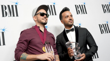 Luis Fonsi & Residente Accept BMI Latin Music Awards With Gratitude for Their Collaborators and Family