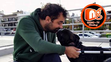 Βασίλης Τζιγκούρας – Ο άνθρωπος που βοηθά ανάπειρα ζώα να ξαναπερπατήσουν καλεσμένος στην εκπομπή Surfing On Air