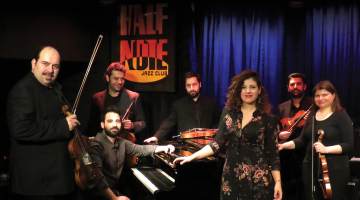 ORIENT EXPRESS | Κυριάκος Γκουβέντας, Βιολιστές της Στέγης του Κόσμου, Ροδή Γκιούλ | Παρασκευή 13 Απριλίου @ Γυάλινο Up Stage