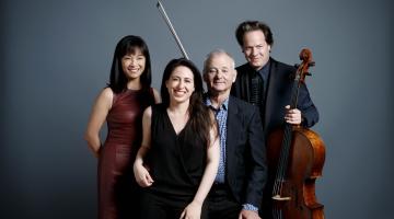 Οι Bill Murray, Jan Vogler, Mira Wang και Vanessa Perez θα βρίσκονται στην Αθήνα, στο Ωδείο Ηρώδου Αττικού, στις 19 Ιουνίου! (ΕΛΛΗΝΙΚΟΙ ΥΠΕΡΤΙΤΛΟΙ)