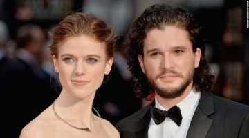 'Game of Thrones' stars Kit Harington and Rose Leslie are married