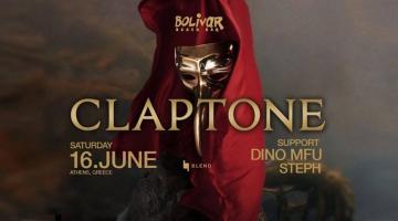 Ο Claptone – το μυθικό πουλί – στο Bolivar   Σάββατο 16 Ιουνίου
