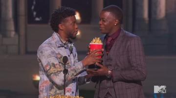 Chadwick Boseman honors Waffle House hero at MTV Movie & TV Awards
