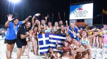 Παγκόσμια πρωταθλήτρια η εθνική μπιτς χάντμπολ γυναικών
