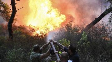 Η συγκροτημένη και αποτελεσματική αντιμετώπιση της πυρκαγιάς στην Αττική από τον Στρατό Ξηράς