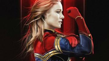 New Captain Marvel Promo Art Has Brie Larson In The Classic Suit