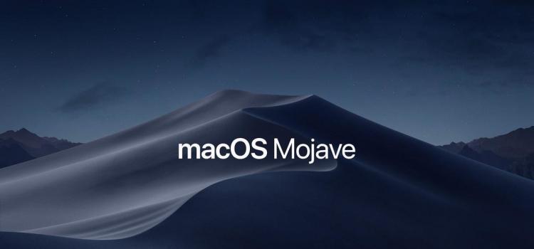 Διαθέσιμο από σήμερα το macOS Mojave