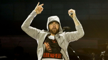 On the Charts: Eminem captures ninth number one with 'Kamikaze'