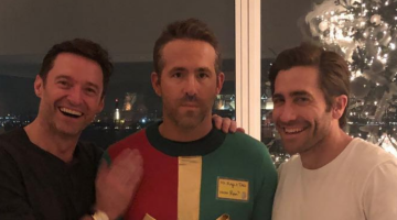 Ryan Reynolds Suffers Christmas Prank At The Hands Of Hugh Jackman And Jake Gyllenhaal