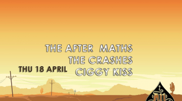 The After Maths μαζί με The Crashes και Ciggy Kiss, live στο AnClub