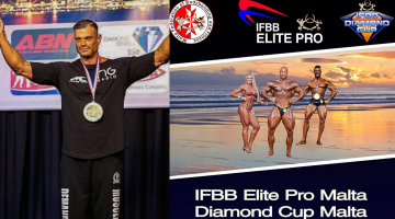 """Ο ταγματάρχης Γιώργος Μαργαρίτης συμμετέχει στον διεθνή διαγωνισμό σωματικής διάπλασης """"IFBB International Diamond Cup Malta & Elite Pro 2019"""""""