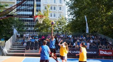 Παίζουμε μπάσκετ  στα πιο κεντρικά σημεία της πόλης: Δηλώστε συμμετοχή!